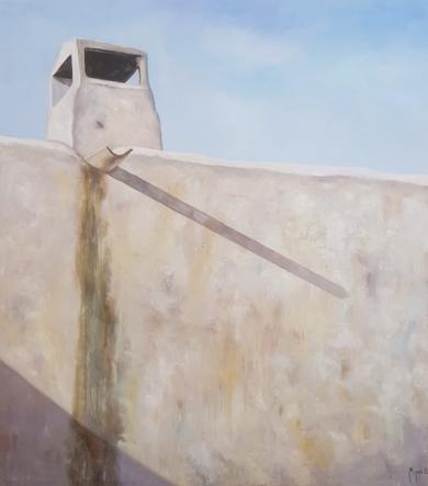 Pared   y canaleta|PinturadeMiguel Ángel García López| Compra arte en Flecha.es
