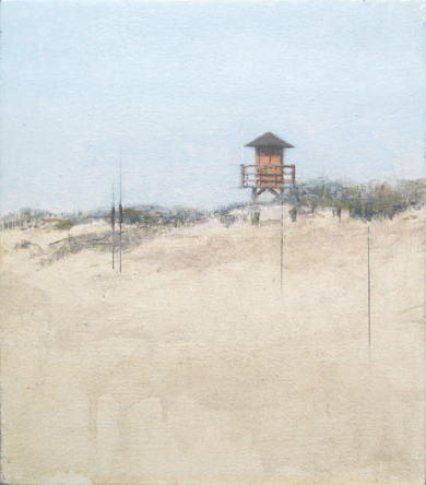 Playa de Isla Canela II PinturadeJosé Luis Romero  Compra arte en Flecha.es