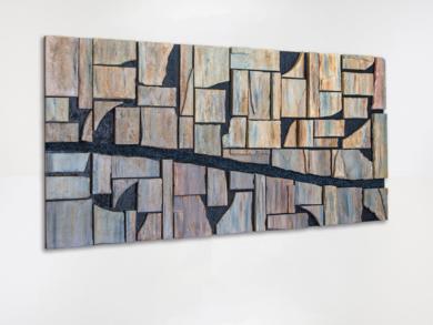 El río|CollagedeJose L.  García| Compra arte en Flecha.es
