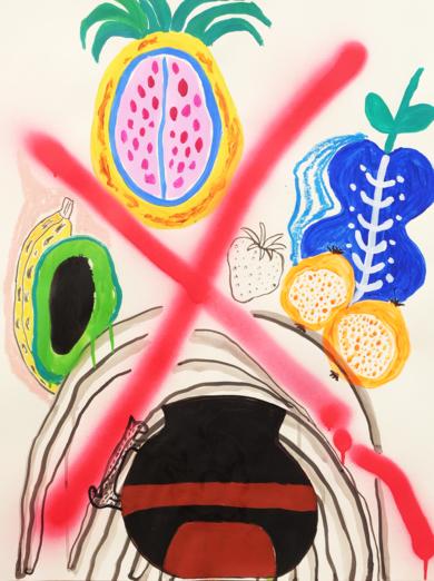 Tropicana|DibujodeLisa| Compra arte en Flecha.es