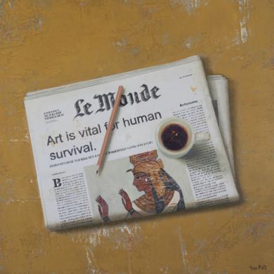 NEWS and PEN II|PinturadeTomasa Martin| Compra arte en Flecha.es