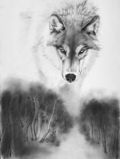 Brecha de silencio I|DibujodeMónica Torres| Compra arte en Flecha.es