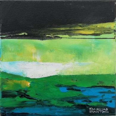 Abstract landscape 1|PinturadeFrancisco Santos| Compra arte en Flecha.es