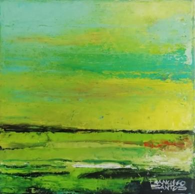 Abstract landscape 4|PinturadeFrancisco Santos| Compra arte en Flecha.es