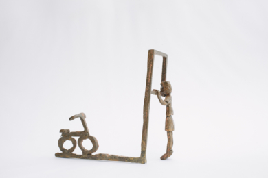 Desear una bicicleta. Serie Infinitivos|EsculturadeAna Valenciano| Compra arte en Flecha.es