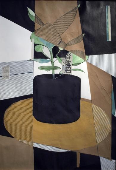 Black Pot|CollagedeMario Sánchez| Compra arte en Flecha.es