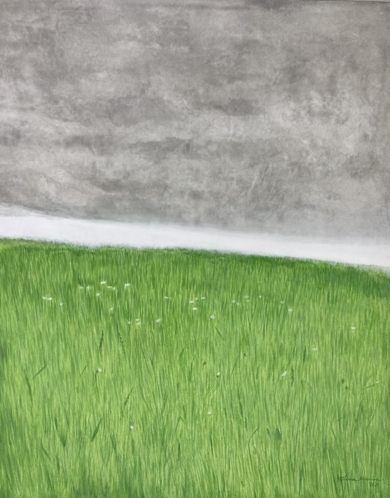Campo de primavera|PinturadeMilena Mateva| Compra arte en Flecha.es