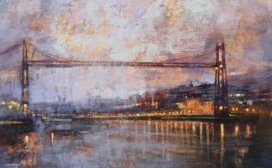 Puente de Vizcaya|PinturadeCristina Bergoglio| Compra arte en Flecha.es