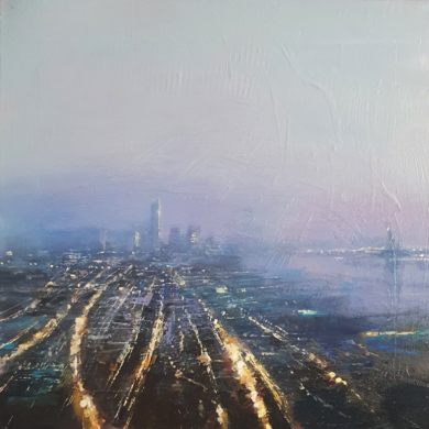 N. York|PinturadeCristina Bergoglio| Compra arte en Flecha.es