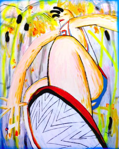 Mark PinturadeYana Medow  Compra arte en Flecha.es