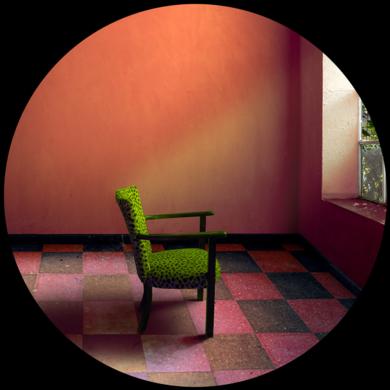 Habitación de pensar en verde FotografíadeLeticia Felgueroso  Compra arte en Flecha.es