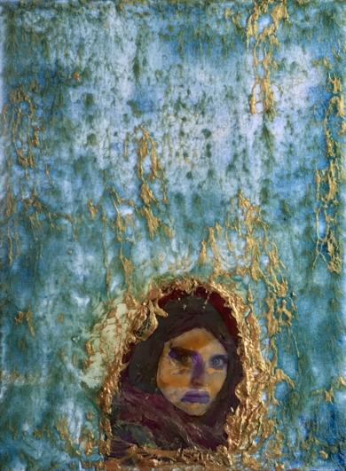 New afghan girl|PinturadeEnric Correa| Compra arte en Flecha.es