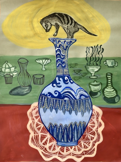 Objects of time reconciliation|DibujodeLisa| Compra arte en Flecha.es