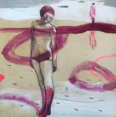 MUJER DE AGUA III|DibujodeMenchu Uroz| Compra arte en Flecha.es