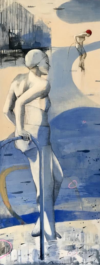 CAMINOS AL MAR I|DibujodeMenchu Uroz| Compra arte en Flecha.es