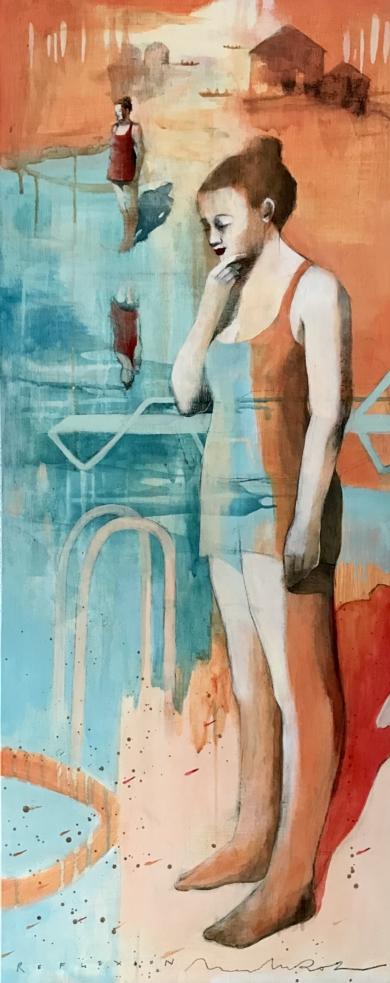 CAMINOS AL MAR III|DibujodeMenchu Uroz| Compra arte en Flecha.es
