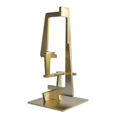 Industrial Gold_04|EsculturadeCandela Muniozguren| Compra arte en Flecha.es