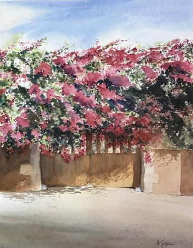 El portón PinturadeChela Grijelmo  Compra arte en Flecha.es