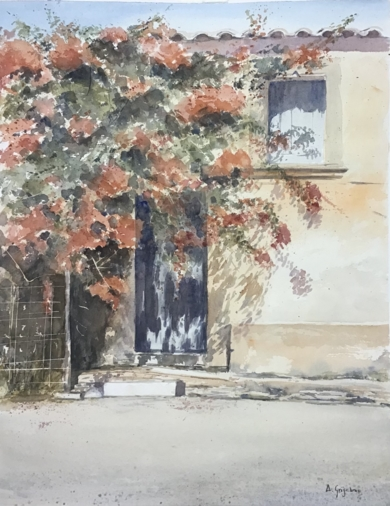 La casa abandonada PinturadeChela Grijelmo  Compra arte en Flecha.es