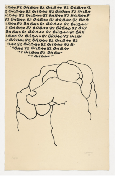 Bilbao - Mundial 1982|Obra gráficadeEduardo Chillida| Compra arte en Flecha.es