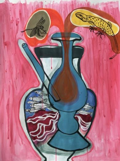 El misterio de los vasos hundidos|CollagedeLisa| Compra arte en Flecha.es