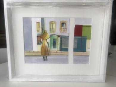Tarde de verano|PinturadeAna Alcaraz| Compra arte en Flecha.es