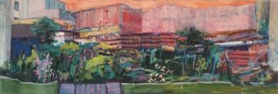 Entregaleras primavera PinturadeAngeli Rivera  Compra arte en Flecha.es