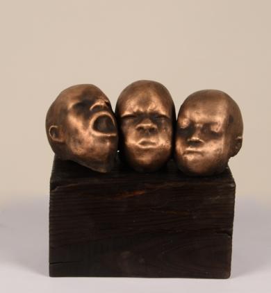 Heads|EsculturadeJesús Curiá| Compra arte en Flecha.es