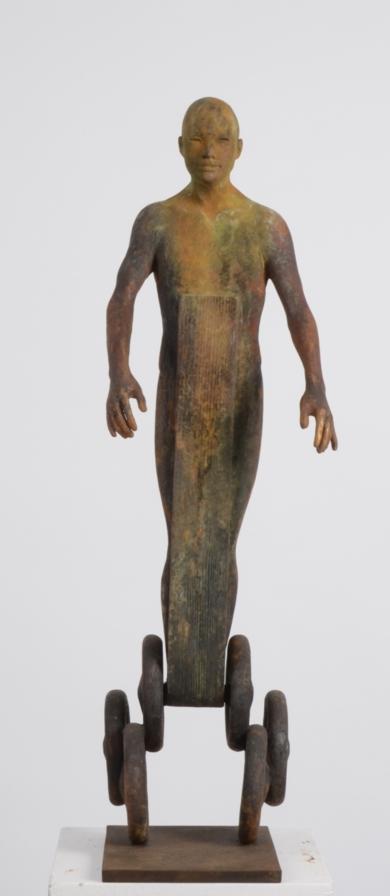 Centauro II|EsculturadeJesús Curiá| Compra arte en Flecha.es