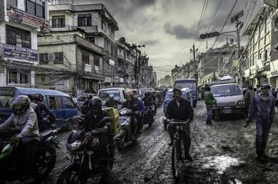 Nepal. El Manhattan nepalí está en Katmandú|DigitaldeJavier Lopez| Compra arte en Flecha.es