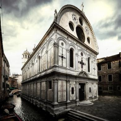 Venecia. La Iglesia de Santa Maria dei Miracoli|DigitaldeJavier Lopez| Compra arte en Flecha.es