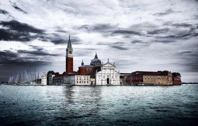 Venecia. Isla de San Giorgio Maggiore|DigitaldeJavier Lopez| Compra arte en Flecha.es