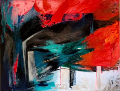 Muros contra el Infinito|PinturadeLika Shkhvatsabaia| Compra arte en Flecha.es
