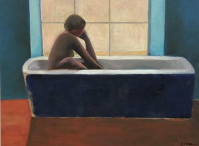 Bath time: Backlight|PinturadeSusana Mata| Compra arte en Flecha.es