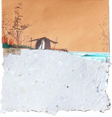 Puesta de sol|CollagedeEduardo Query| Compra arte en Flecha.es
