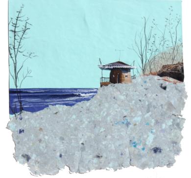 Mar de invierno|CollagedeEduardo Query| Compra arte en Flecha.es