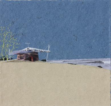 Sobre la arena blanca|CollagedeEduardo Query| Compra arte en Flecha.es