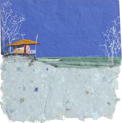 El color de la mar de leva|CollagedeEduardo Query| Compra arte en Flecha.es