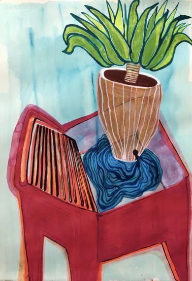 Domestic landscape|DibujodeLisa| Compra arte en Flecha.es