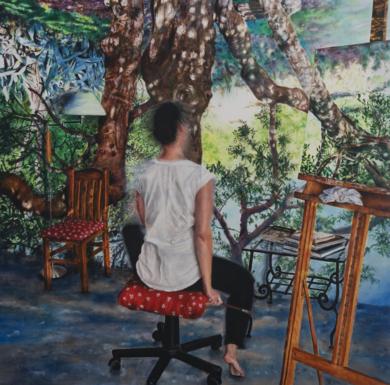 Autorretrato|PinturadeInma García Valderas| Compra arte en Flecha.es