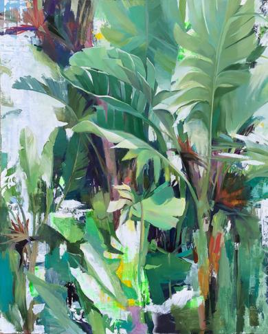 Aves del paraíso|PinturadeCarmen Montero| Compra arte en Flecha.es