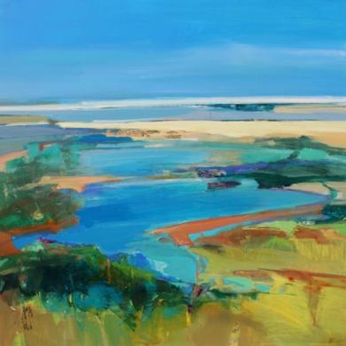 Journey To The Sea PinturadeMagdalena Morey  Compra arte en Flecha.es