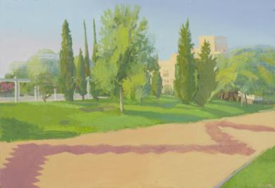 Paseo maritimo|PinturadeIgnacio Mateos| Compra arte en Flecha.es