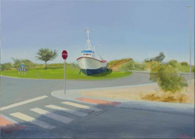 Bienvenido a la Punta|PinturadeIgnacio Mateos| Compra arte en Flecha.es