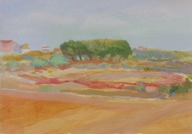 Paisaje|PinturadeIgnacio Mateos| Compra arte en Flecha.es