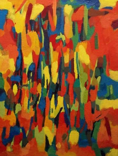 Quedada|PinturadeIsabel Martin| Compra arte en Flecha.es
