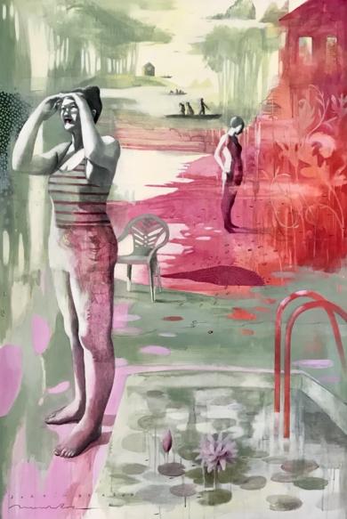 EQUILIBRIO III|CollagedeMenchu Uroz| Compra arte en Flecha.es