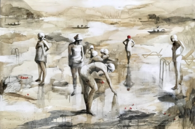 EQUILIBRIO IV|DibujodeMenchu Uroz| Compra arte en Flecha.es