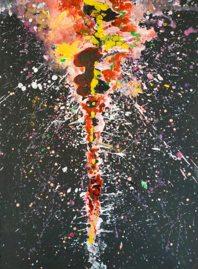 Erupción PinturadeRemedios Rubiales  Compra arte en Flecha.es