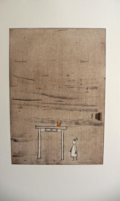 El Vaso de Fanta|Obra gráficadeAna Valenciano| Compra arte en Flecha.es